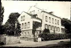 Postcard Auerbach im Vogtland Sachsen, Die Fachschule für Landwirtschaft