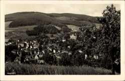 Postcard Klingenthal im Vogtland Sachsen, Panoramablick auf den Ort