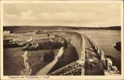 Postcard Schöneck im Vogtland Sachsen, Die Talsperre bei Muldental