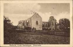 Ak Walbeck Oebisfelde Weferlingen in Sachsen Anhalt, Blick auf die Domruine