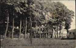 Postcard Zöblitz Marienberg im Erzgebirge Sachsen, Gasthaus Kniebreche