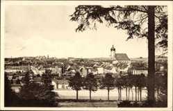 Postcard Marienberg im Erzgebirge Sachsen, Totalansicht der Ortschaft