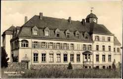 Postcard Marienberg im Erzgebirge Sachsen, Blick auf das Amtsgericht