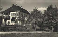 Postcard Rad Reiboldsgrün Auerbach im Vogtland, Zöbischhöhe, Haus, Wegpartie