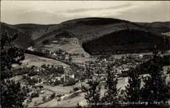 Postcard Sachsenberg Georgenthal Klingenthal im Vogtland Sachsen, Blick auf den Ort