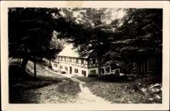 Postcard Ansprung Marienberg im Erzgebirge Sachsen, Erholungsheim