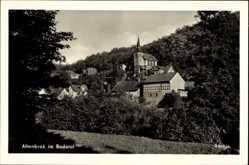 Ak Altenbrak Thale im Harz, Blick auf einen Teil des Ortes, Bodetal