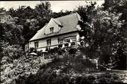 Ak Altenbrak Thale im Harz, Blick auf das Haus Engelhardt