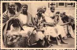 Postcard Kivu Kongo Zaire, Missions des Oblates de l'Assomption, Hopital de Musyenene