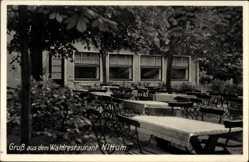 Postcard Nittum Bergisch Gladbach in Nordrhein Westfalen, Waldrestaurant, J. Kimmel