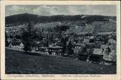 Postcard Szklarska Poręba Schreiberhau Schlesien, Weißbachtal, Sanatorium Hochstein