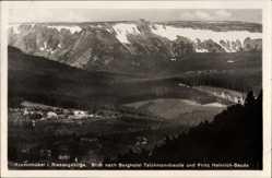 Postcard Karpacz Krummhübel Riesengebirge Schlesien, Berghotel Teichmannbaude