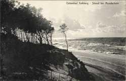 Postcard Kalkberg Dziwnów Międzywodzie Heidebrink Pommern, Strandpartie