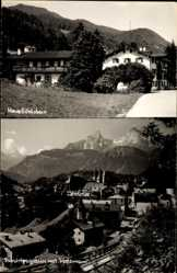 Postcard Berchtesgaden in Oberbayern, Haus Göhlstein, Watzmann