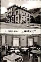 Postcard Todtnau im Südschwarzwald Kreis Lörrach, Gasthaus Feldberg, M. Richter