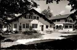 Postcard Prien am Chiemsee Oberbayern, Gaststätte Fischer am See, Harrasserstr. 145