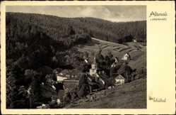 Postcard Altenau im Oberharz, Blick auf den Ort im Schultal