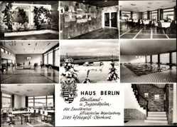 Postcard Hohegeiß Braunlage im Oberharz, Haus Berlin, Schulland u. Jugendheim
