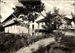 Postcard Bad Bellingen im Kreis Lörrach, Zur guten Quelle, Hotel garni, H. Eckhardt