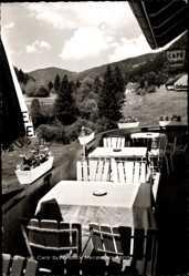Postcard St. Blasien im Südschwarzwald Baden Württemberg, Cafe Schönblick, Dietsche