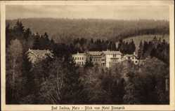 Ak Bad Sachsa in Niedersachsen, Blick vom Hotel Bismarck
