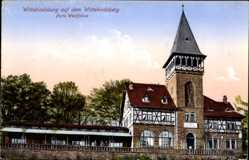 Postcard Porta Westfalica in Nordrhein Westfalen, Wittekindsburg, Wittekindsberg