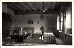 Postcard Strub Bischofswiesen Bayern, Bauernstube im Haus Bergluft