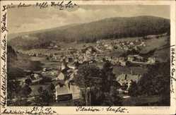 Postcard Todtmoos im Hochschwarzwald, Totalansicht der Ortschaft