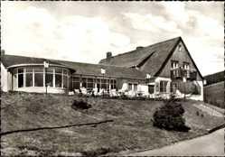 Postcard Schulenberg Harz, Hotel Gaststätte Tanneck, H. Volkenandt