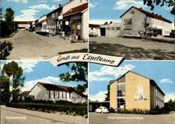Postcard Espelkamp in Ostwestfalen Lippe, Ernst Moritz Arndt Schule, Tannenbergplatz