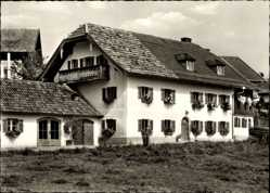Postcard Anger Holzhausen, Blick auf das Landhaus Haslauer, Fassade