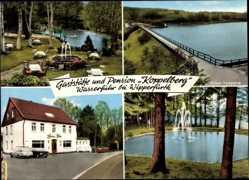Postcard Wasserfurt Wipperfürth im Oberbergischen Kreis, Gaststätte Koppelberg