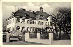 Postcard Parsberg Oberpfalz, Bezirkskrankenhaus, Einfahrtstor