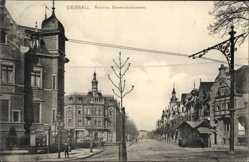 Postcard Dessau in Sachsen Anhalt, Roon und Blumenthalstraße