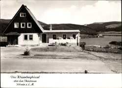 Postcard Schulenberg Oberharz, Das Wiesenberghäusel, Bes. Urbat