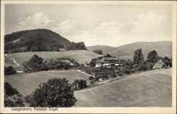 Postcard Langackern Horben Baden Württemberg, Gasthaus Pension Engel, Bes. Scherer