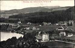 Postcard Titisee Neustadt im Breisgau Hochschwarzwald, Gesamtansicht des Ortes
