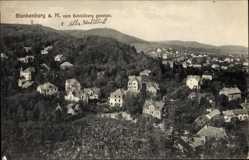 Postcard Blankenburg am Harz, Blick vom Schlossberg auf den Ort