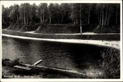 Postcard Trzebiel Triebel Niederlausitz Ostbrandenburg, Badeanstalt