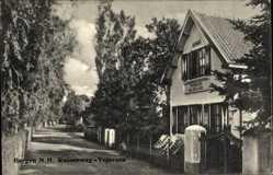 Postcard Bergen Nordholland, Russenweg, Vojorusa, Pension Blokhuis