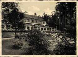 Postcard Ruciane Nida Rudczanny Nidden Masuren Ostpreußen, Kurhaus am Niedersee