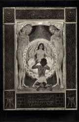 Jugendstil Ak Fidus, Ein Gnadenbild, Kohlefoto von 1916