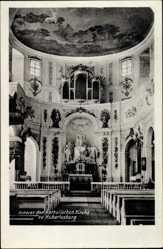 Ak Wermsdorf in Sachsen, Inneres der Katholischen Kirche zu Hubertusburg