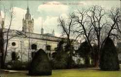 Postcard Dessau in Sachsen Anhalt, Blick auf das Orangeriehaus im Lustgarten