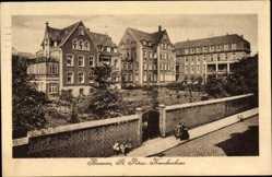 Postcard Barmen Wuppertal in Nordrhein Westfalen, St. Petrus Krankenhaus