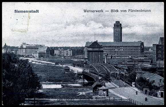 ansichtskarte postkarte siemensstadt berlin spandau. Black Bedroom Furniture Sets. Home Design Ideas