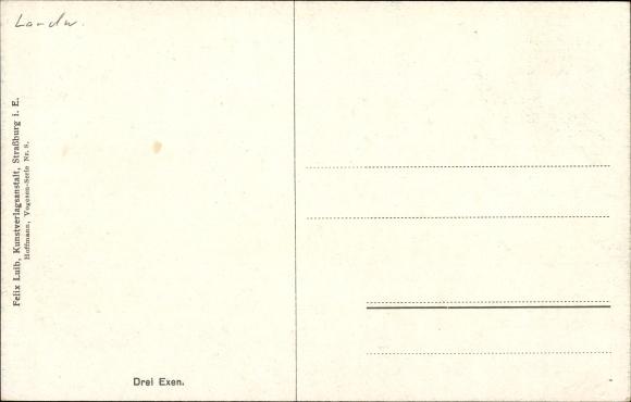 artiste carte postale hoffmann h drei exen haut rhin. Black Bedroom Furniture Sets. Home Design Ideas