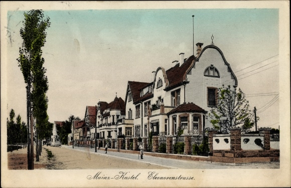 Ansichtskarte    Postkarte Mainz Kastel Wiesbaden in   akpool de