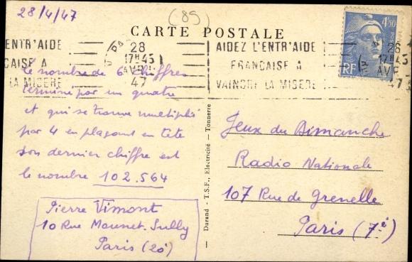 Canal De Bourgogne Carte.Postcard Ancy Le Franc Yonne Le Canal De Bourgogne Akpool Co Uk