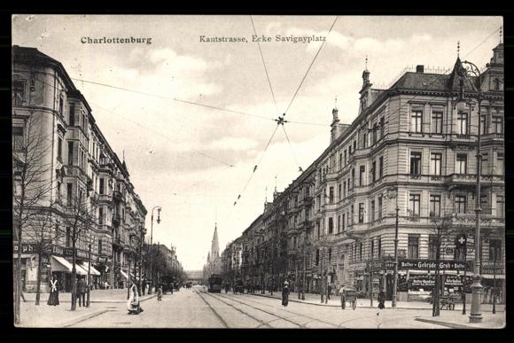 Ansichtskarte postkarte berlin charlottenburg kantstr for Wohndesign kantstr berlin